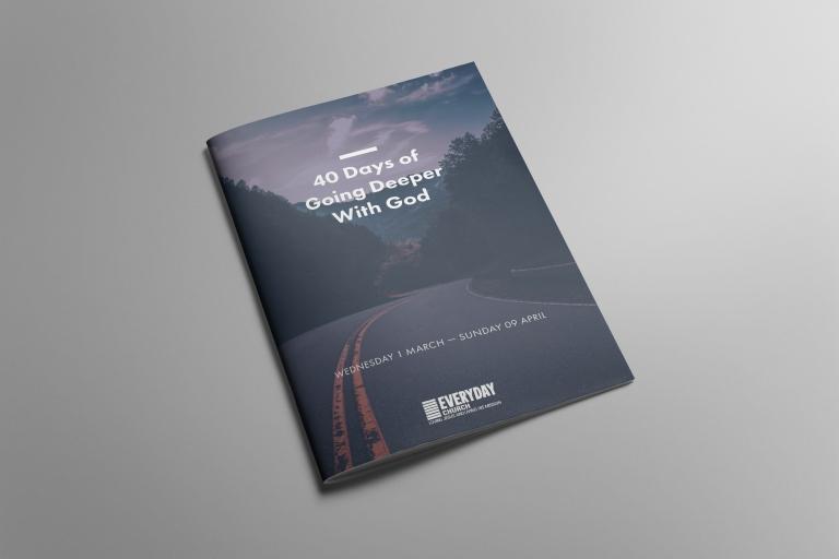 Everyday Church 40 Days Booklet
