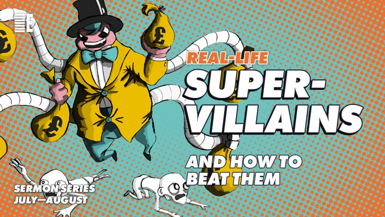 Real-Life Supervillians — Social Media Post 6 (Poverty)