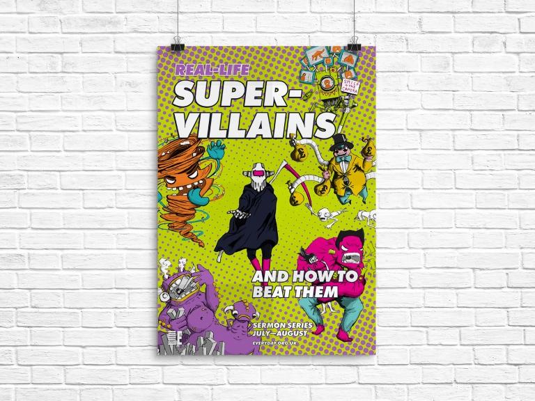 RLS Supervillains A1 Poster v1 (Mockup)