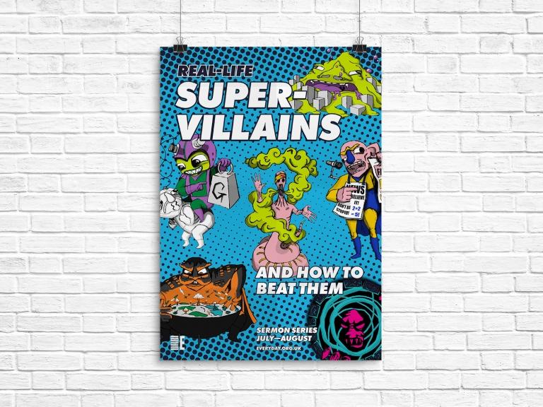 RLS Supervillains A1 Poster v2 (Mockup)