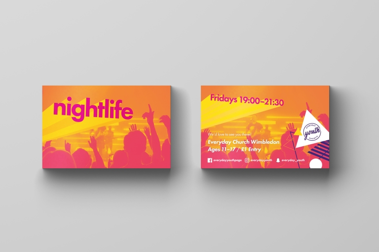Everyday Youth — Business Card Mockup