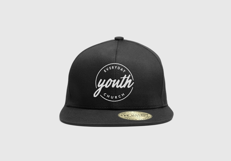 Everyday Youth Snapback — Mockup 1